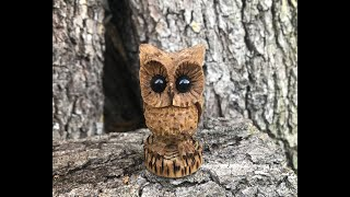 Owl Power Carving with Kutzall…