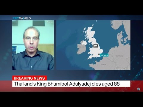Thailand Mourns: Interview with Tim Forsyth on Thai King Bhumibol Adulyadej's death