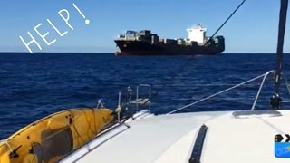 IMPI TAKES DIESEL FROM A SHIP AT SEA - passage New Zealand