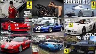 Music Movie SuperCars Fast and Furious 8 Special Video