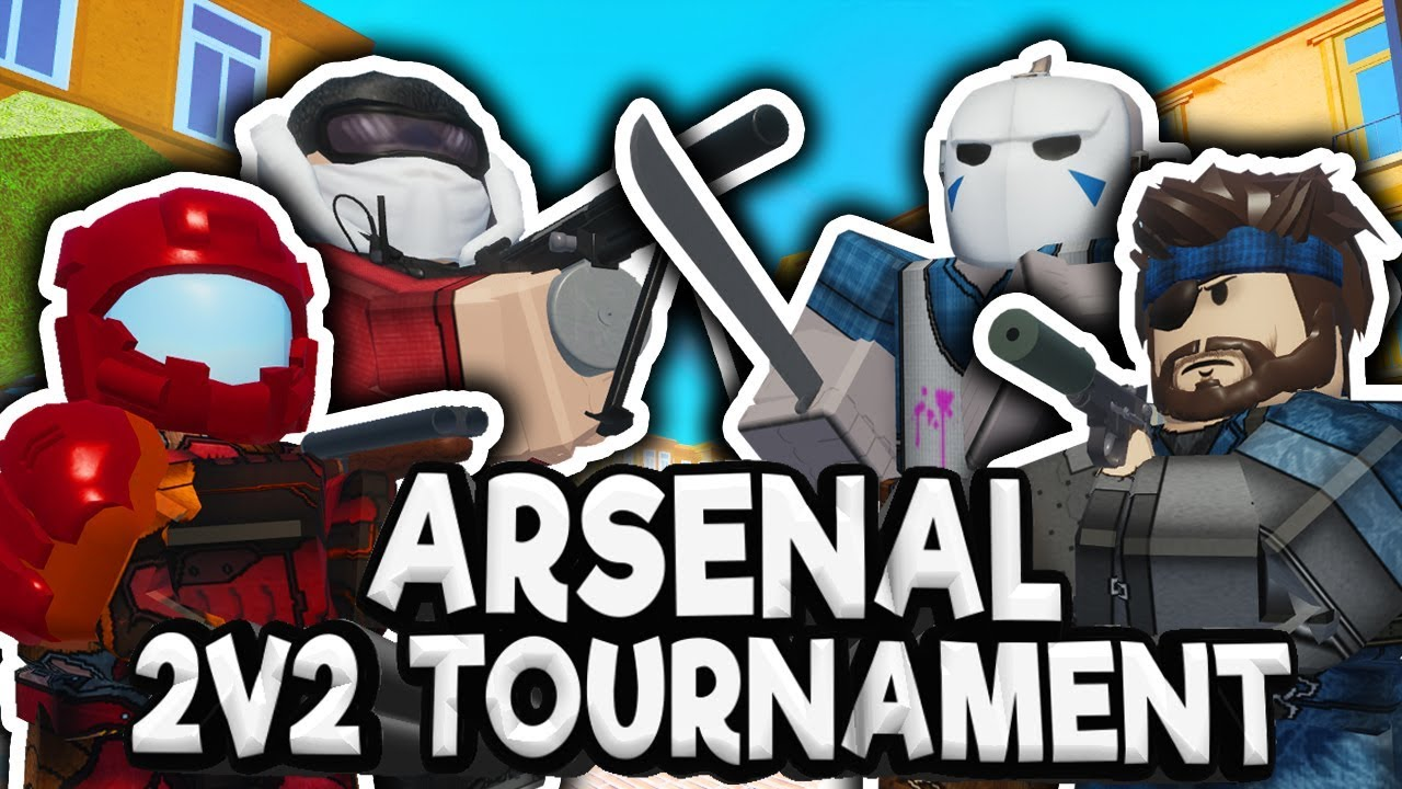 roblox arsenal 2v2 tournament finals pt2