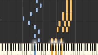 Che Sara? (Jimmy Fontana) as played by Richard Clayderman - Synthesia piano tutorial