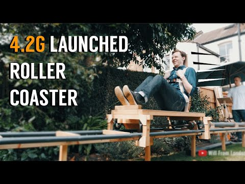 Scotty Davis - This Guy Built A Backyard Roller Coaster That Launches At 4 G's