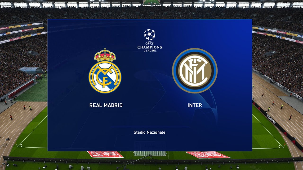 real madrid vs inter milan uefa champions league 2020 prediction youtube youtube