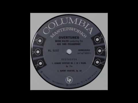 Beethoven, Overtures, Bruno Walter,cond