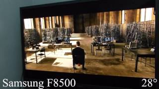 Samsung F8500 Plasma TV Viewing Angle