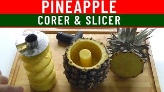 Kitchen Gadget Pineapple Peeler Slicer & Corer How to