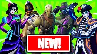 *NEW* Leaked FORTNITEMARES Cosmetics! + *NEW* CROSSFIRE SKIN!