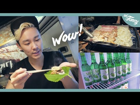 All You Can Eat Korean Pork BBQ & Unlimited Alcohol?!