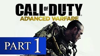 Call of Duty Advanced Warfare Walkthrough Part 1 No Commentary [1080p HD] Xbox 360 Gameplay