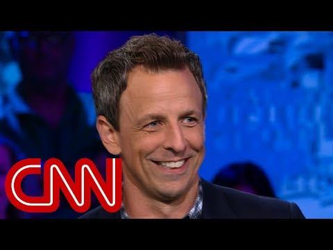 Seth Meyers explains why he's tough on Trump