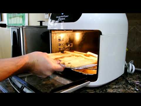 How to make frozen french fries in power air fryer oven