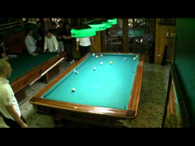 Campionato Triveneto Biliardo 2011 Pool 8-15 Finale Master Bazzana-Zambonin terza partita