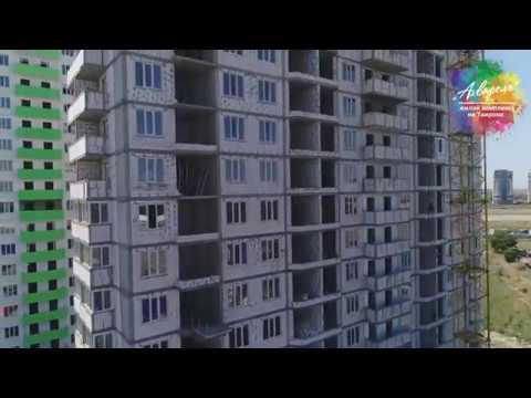 ЖК Акварель 1. Ход строительства за июнь 2019