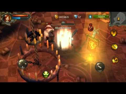 Dungeon Hunter 4 Lvl 45 Archivos Deidad