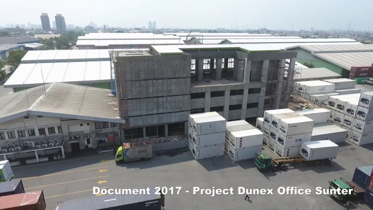 Proyek Pembangunan Kantor Dunex Sunter Part 1 Youtube