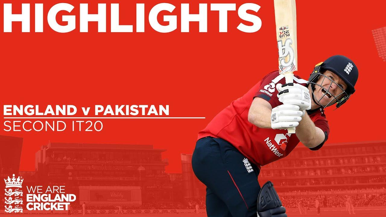England v Pakistan 2nd IT20 | Captain Morgan Stars as England Win! | Vitality IT20 2020