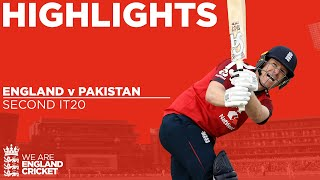 England v Pakistan 2nd IT20 | Captain Morgan Stars as England Win! | Vitality IT20 2020