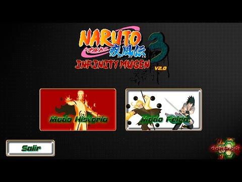 Naruto Infinity Mugen 3 V2.0 [2016] by danteg9