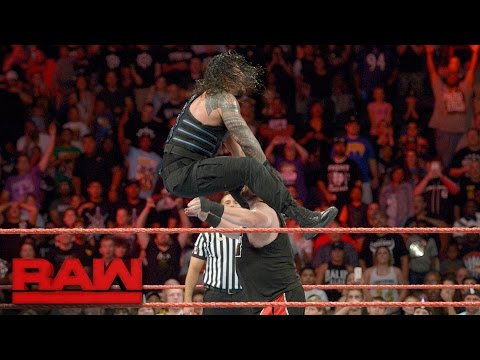 Roman Reigns vs. Kevin Owens: Raw, Sept. 12, 2016