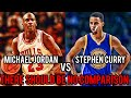 Why There Should Be NO Comparison Between Michael Jordan And Steph Curry