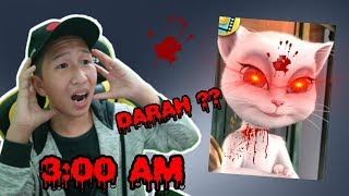 Halo guys ! Di Video Kali Ini gw main game talking angela jam 3 pag...