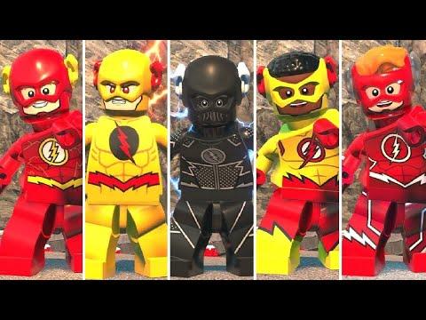 All Speedsters In LEGO DC Super-Villains