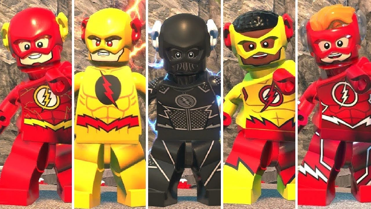 LEGO DC Super-Villains - All Speedsters