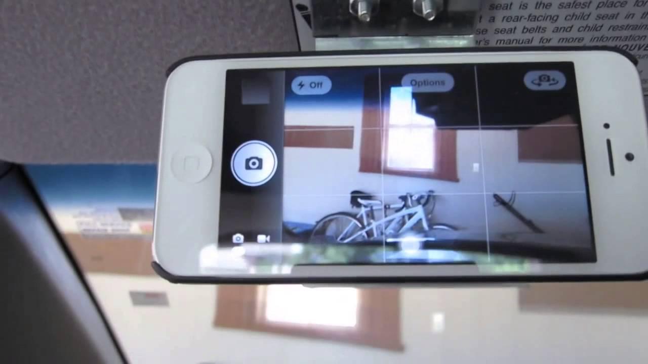 Diy Smartphone Dash Cam Mount Youtube