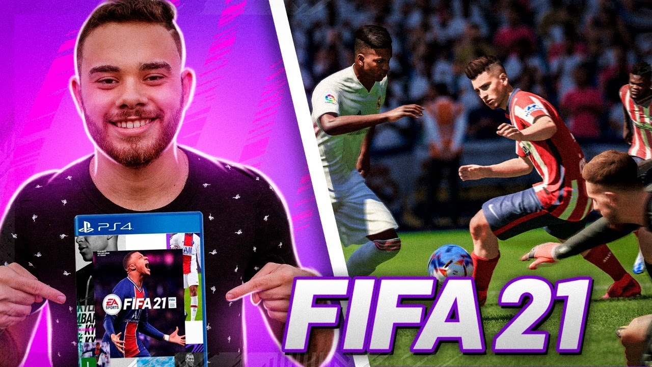 FINALMENTE FIFA 21!! CONFERINDO TUDO DO JOGO!!