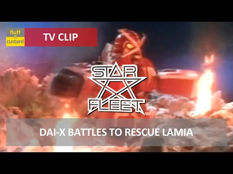Star Fleet (1980) - Dai-X battles to rescue Lamia [HQ]