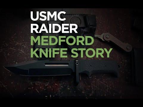 USMC Raider - A Medford Knife Design Story