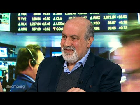 Nassim Taleb Says Investors Need 'Insurance' From Market Drops