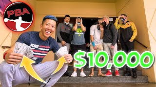 $10,000 Bowling Styles Challenge With PBA Pros! screenshot 2