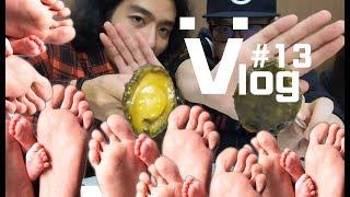 🖖🏻😮【廉傑克曼】香港vlog#13 香港腳有個哈哈笑都市傳說  day01