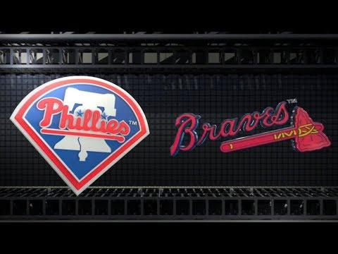 OPENING DAY 2018: PHILADELPHIA PHILLIES vs ATLANTA BRAVES at Sun Trust Park 3/29/18 MLB The Show 18