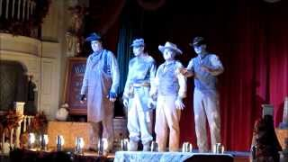 """The Cadaver Dans sing """"Boo To You"""" Limited Time Magic at The Diamond Horsehoe Walt Disney World"""