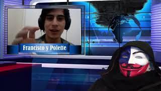Entrevista a Polette Vega y Francisco Quintero, del canal DAU Chile.