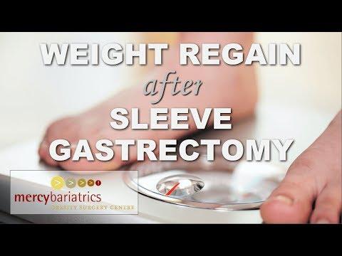 Weight Regain after Sleeve Gastrectomy - Mercy Bariatrics Perth