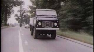 "Land Rover ""A 50-Year Adventure"" history & marketing video 3 of 9"
