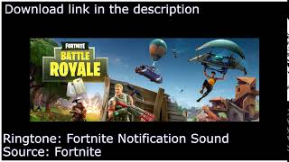 Fortnite - Notification Ringtone - Download