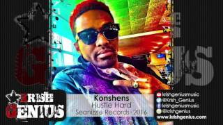 Konshens - Hustle Hard [90's Don Dada Riddim] January 2016