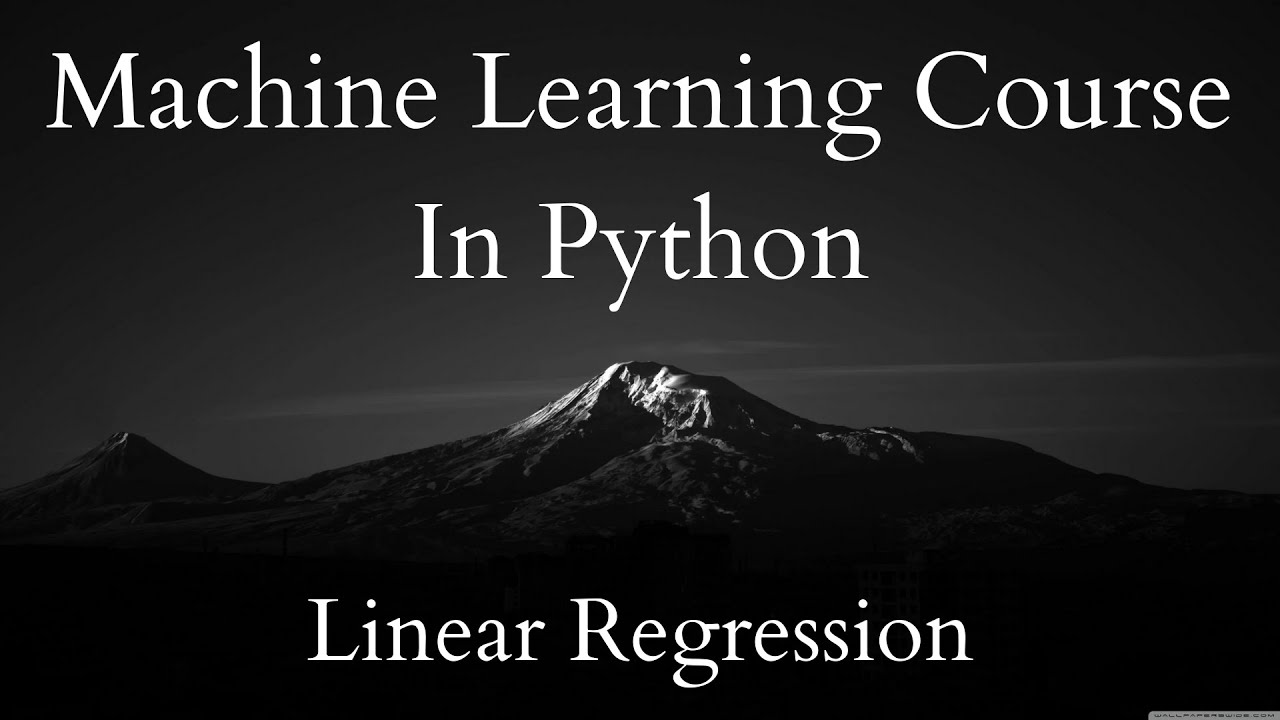 Implementing MSE In Python | ML Course 2.11