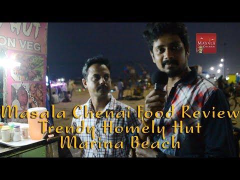 Chennai best street food - Trendy Homely Hut | Marina Beach | Masala Chennai Spicy