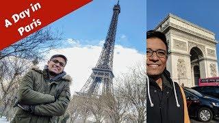 A Day in Paris - TripRazer 🗼❄ 😱 Eiffel Tower Vlog!