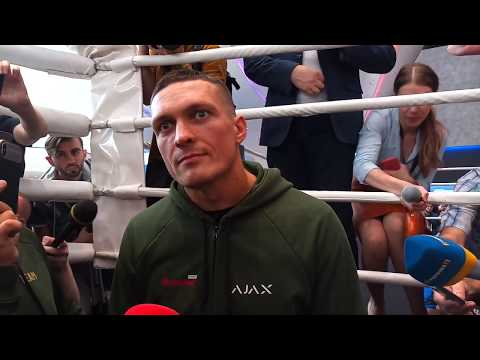 Oleksandr Usyk full interview before Murat Gassiev fight [English captions]