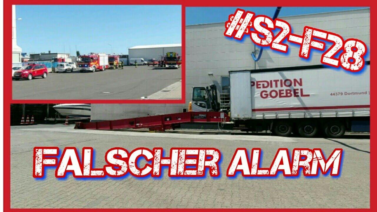 #S2-F28 Falscher Alarm/ Lkw Doku/ Truck Doku deutsch/ Fernfahrer Doku
