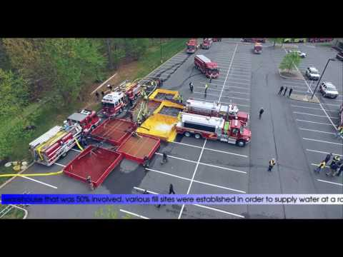 """2016 Middlesex County Full Scale Water Supply Drill – """"Putting Big Water on Big Fire"""""""