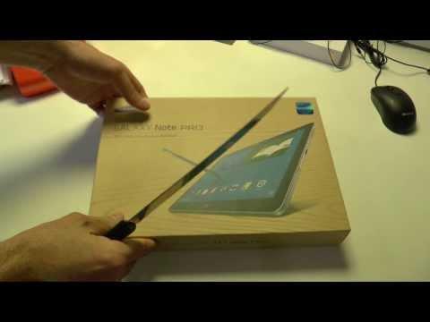 Samsung Galaxy Note Pro Kutusundan Çıkıyor