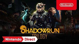 Shadowrun Trilogy – Announcement Trailer – Nintendo Switch